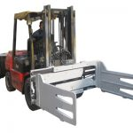 2.2ton Bale Clamp for the 3ton Forklift